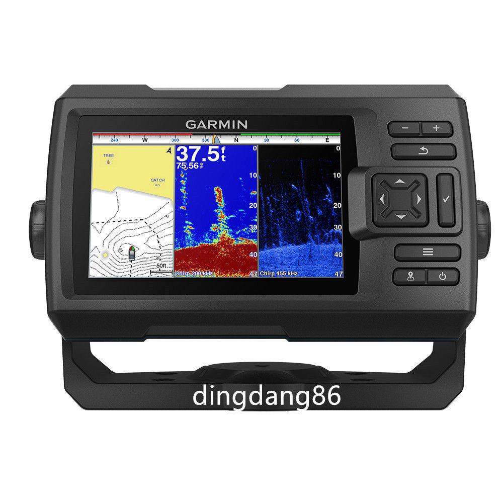 Garmin STRIKER Plus 5cv Fishfinder w GPS GT20-TM DownVü Transducer