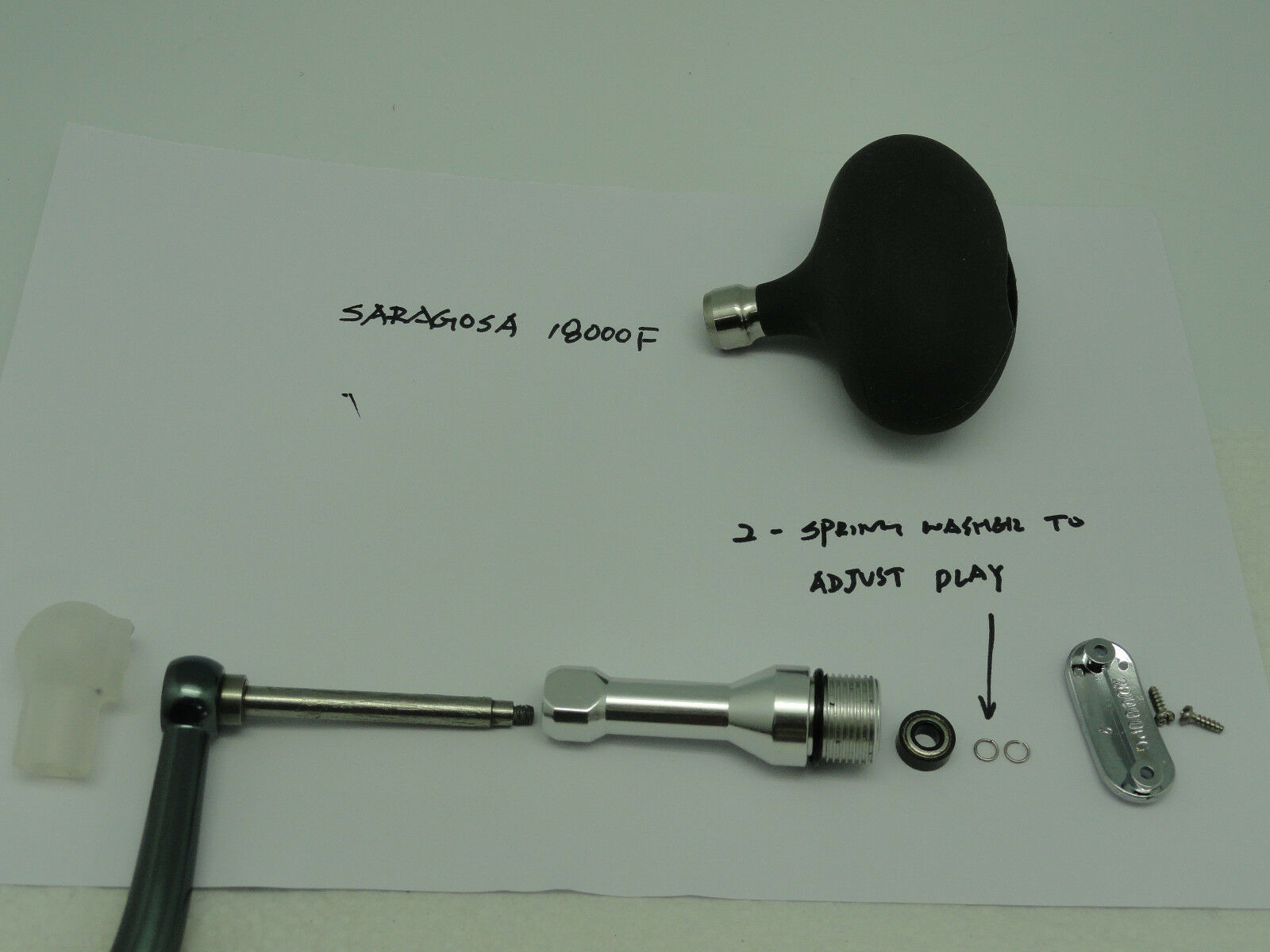 U.J T-BAR T092 18000 handle for Shimano old Saragosa 14000 18000 T092 F spinning REEL GR/PG a17cb8