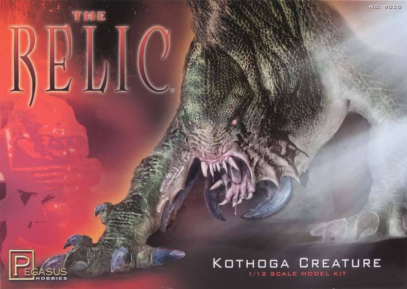 Pegasus Hobby 1 12 The Relic Kothoga Créature Kit Modélisme - 9020 Nouveau