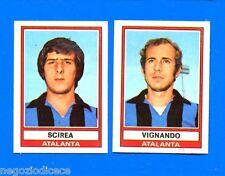 CALCIATORI 1973-74 Panini - Figurina-Sticker n. 399 -SCIREA-VIGNAND ATALANTA-Rec