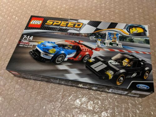 75881 New Sealed Box Rare Retired LEGO Speed Champions Ford Gt GT40 Twinpack
