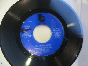 Donald-Byrd-Just-My-Imagination-Running-Away-With-Me-45-RPM-7-034-Blue-Note-EXC