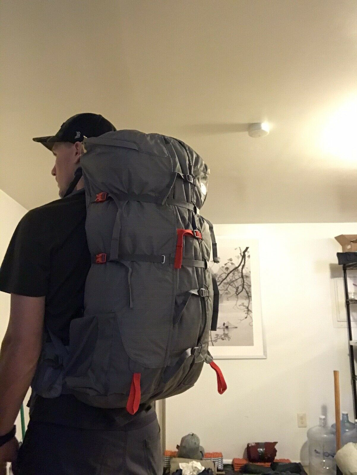 Sierra Designs Flex Capacitor 40-60L Hiking Backpack S//M