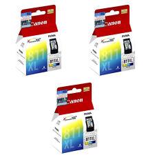 Canon ChromaLife 100+ PIXMA CL-811XL Color FINE Ink Cartridges (3pcs) - 3-Color