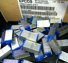 5 Stück Kondensatoren 1 µF / 400 V Epcos MKT (M0614)