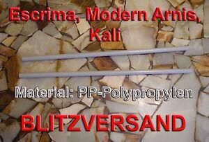 Moden Arnis, Kali, Escrima, Kunststoffstöcke aus unzerstörbarem PP-Polypropylen