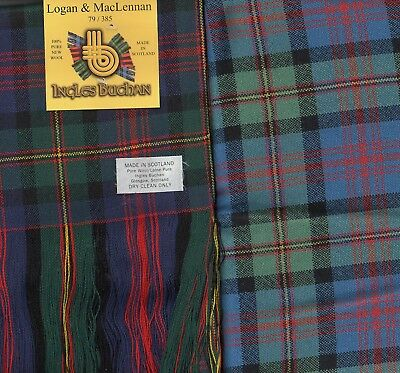 MacLennan Modern Wool Tartan Clan Scarf