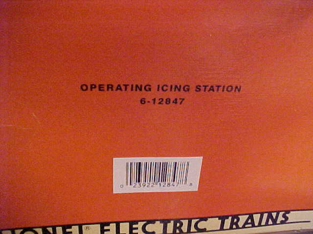 LIONEL -- OPERATIONS ICIN STATION
