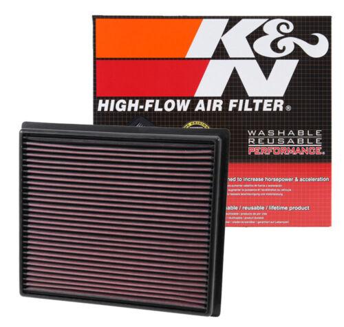 K/&N 33-5017 Drop In Air FIlter 14-18 Toyota Tundra Tacoma Sequoia 3.5L 4.6L 5.4L