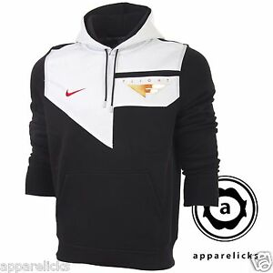 Nike-Mens-Flight-Hooded-Sweatshirt-Top-Black-White-Red-Hoodie-All-Sizes-465561