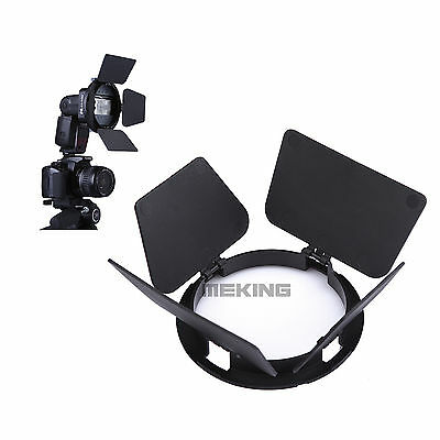 Photography Flash Adapter Kit Accessory K-9 Barndoor for Speedlight Flash New