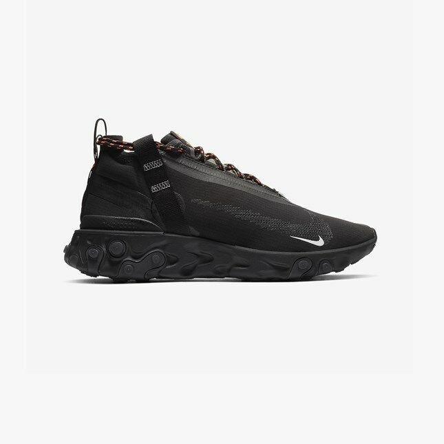 Nike React Runner Mid WR ISPA nero bianca AT3143-001 Uomo Uomo Uomo Running scarpe scarpe da ginnastica 3fb0db
