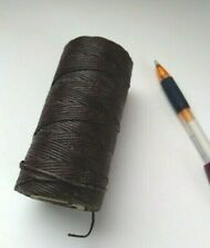 Victor 6 ply waxed LINEN lacing cord rug braiding weaving twine thread 1lb 600yd