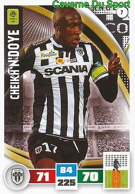 009 PIERRICK CAPELLE FRANCE SCO.ANGERS CARD ADRENALYN LIGUE 1 2017 PANINI