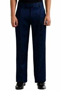 32 Sur Pli Détails Laine It Homme Pantalon Versace Bleu 48 Marine Us c34RjLS5qA