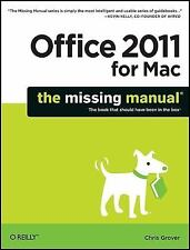 Office 2011 for Macintosh: The Missing Manual, Chris Grover, Good Condition, Boo