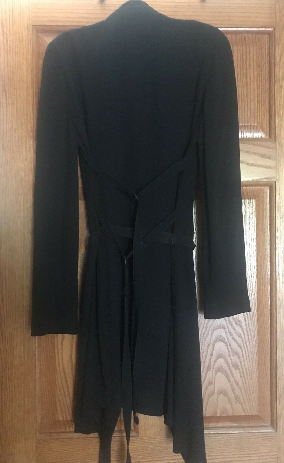 Vintage Ann Demeulemeester 100% Silk Double Lined… - image 3