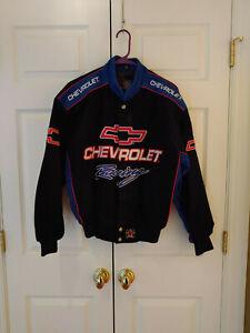 Men-JH-Design-Chevrolet-Racing-Corduroy-Coat-Jacket-Size-S