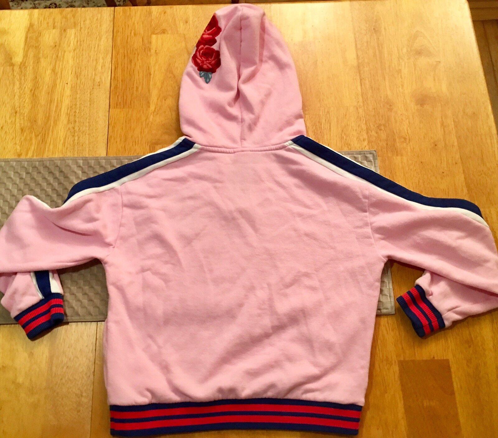 Victoria's Secret Pink pinks Embroidered Campus Campus Campus Crew Sweatshirt Hoodie S Small 582228