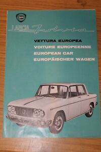 Lancia-Fulvia-European-Car-Multilingual-Sales-Folder-1963