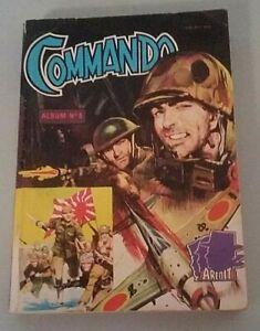 Bd Petit Format Commando N° 5 Aredit 1965 MatéRiaux De Qualité SupéRieure