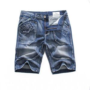 FOX-JEANS-Men-039-s-Julian-Casual-Blue-Denim-Shorts-Size-32