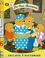 Los Osos Berenstain-the Berenstain Bears-la Serie  6  Dvd-75min-english Option
