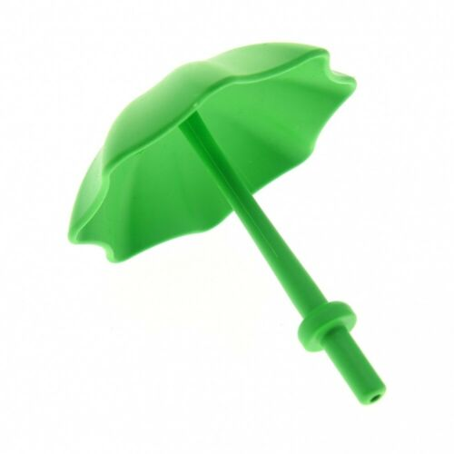 1x Lego Duplo Sun Rain Umbrella Bright Green Stop Ring 4171878 40554