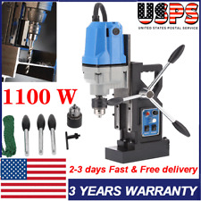110v Mag Drill Magnetic Drilling Machine Rotabroach Type Commercial 1100w