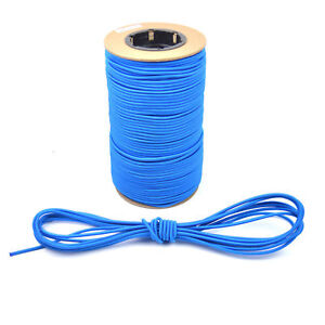 Climbing & Caving Outdoor Sports Shock Cord 3mm 5mm 8mm 10mm Blue Elastic Bungee Rope Straps Tie Down Tent Pole