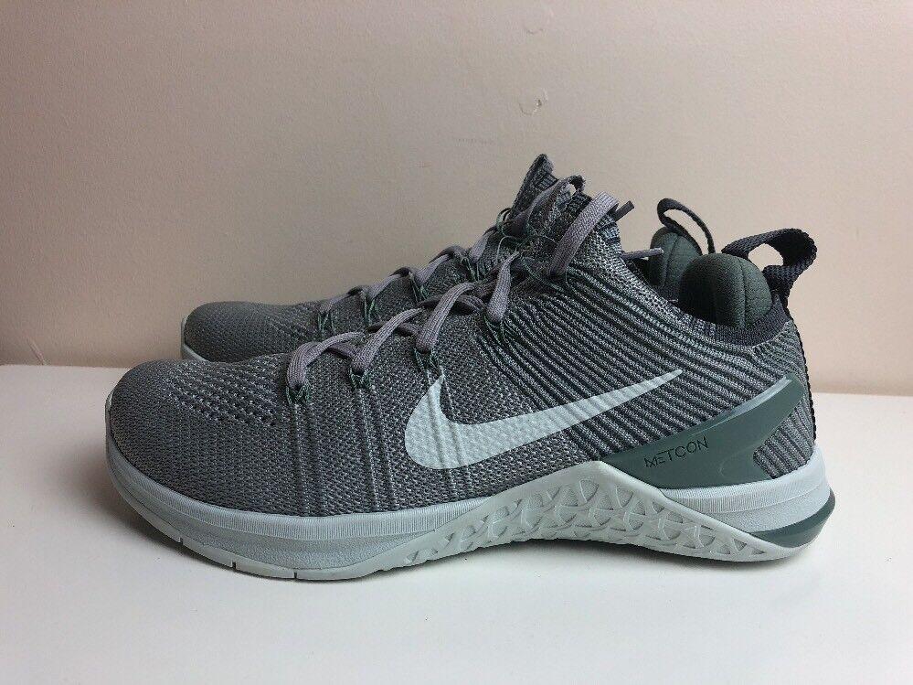 Nike 5 Metcon DSX Flyknit Crossfit 2 Womens UK 5 Nike EUR 38.5 Grey Green 924595 004 8fb6d5