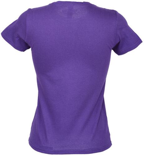 lila Rockabilly Killer Kirsche FOREVER Swallow Schwalben Girlie T-Shirt