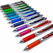 Pentel EnerGel BL77 Gel Ink Pens Rollerball Pens 0.7mm - 12 x Mixed Colours