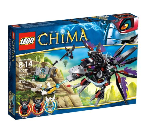 LEGO Chima Razar's Chi Raider #70012 - 2012 Release Collector's Item *CLEARANCE*