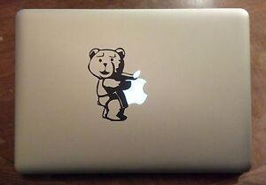 Ted Vinyl Sticker Decal Macbook Pro Bumper Car Window Laptop Funny - Vinyl stickers for laptops