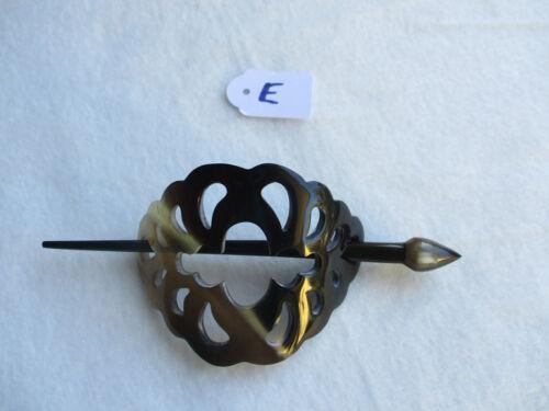 Handarbeit Haarspange Haarschmuck 11041 Büffelhorn Naturprodukt