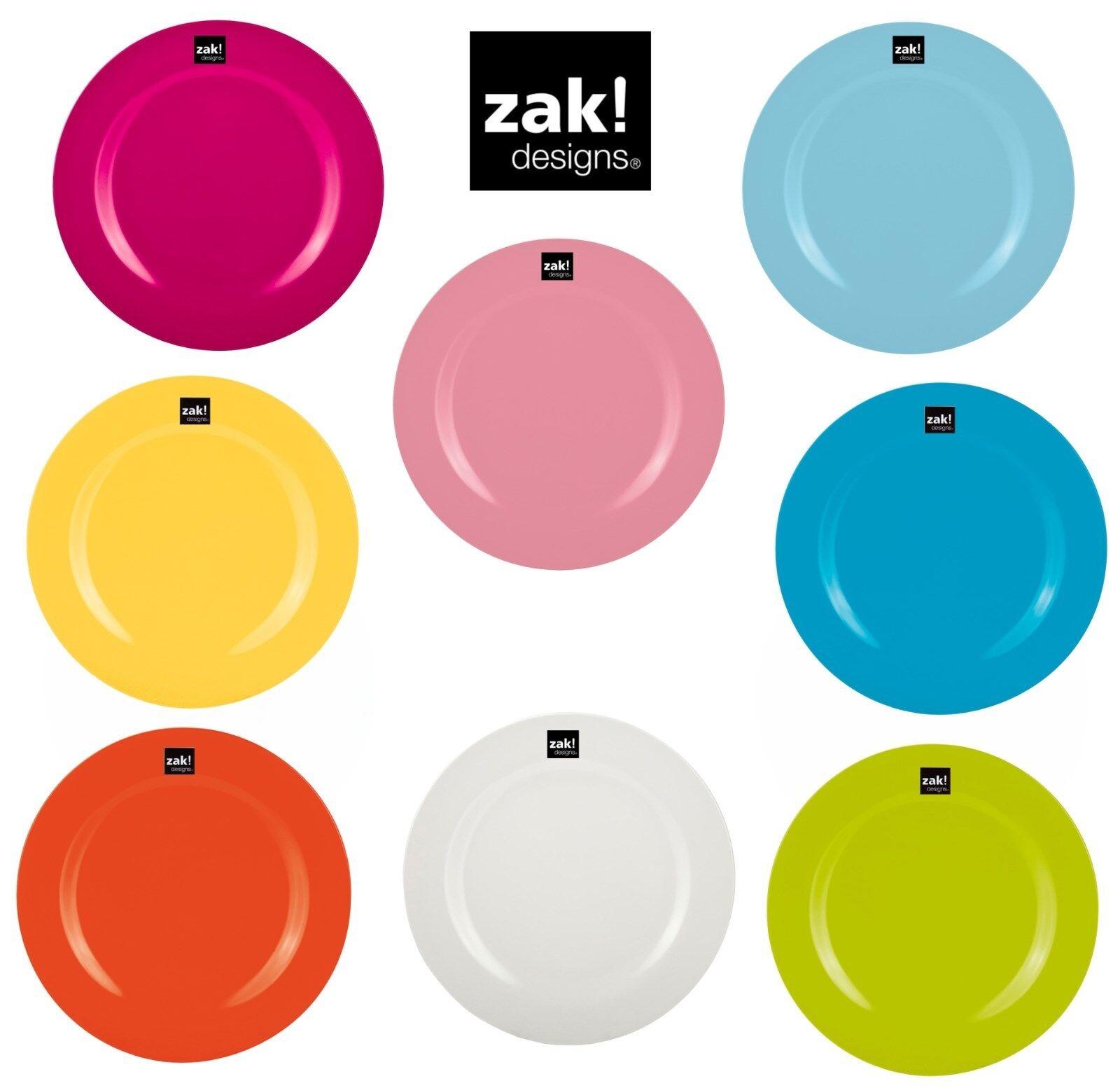 Zak Design Barbecue Camping, Grand Assiette, 28cm Idéal pour Camping, Barbecue Pique-Nique 7084d5
