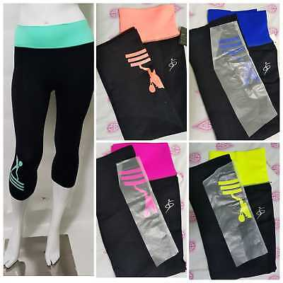 Onestà Women's Sports Legging Pants Vita Alta Yoga Fitness Ciclo Running Jogging Pantaloni-mostra Il Titolo Originale