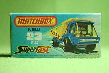 Modellauto - Matchbox - Superfast - Nr. 23 Atlas Truck - OVP