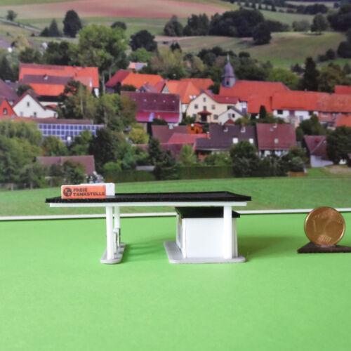 Spur-Z Art.Nr Modellbausatz Tankstelle 5003