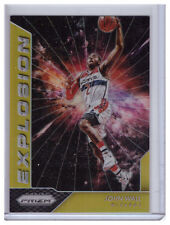 16/17 Panini Prizm JOHN WALL Washington Wizards GOLD 07/10 Explosion 2016-17 SSP