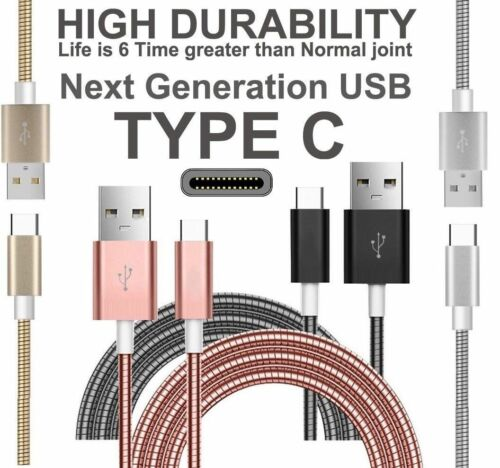 Samsung Galaxy S9 S9 PLUS USB Type C Fast Sync Charger Charging Power Cable Lead
