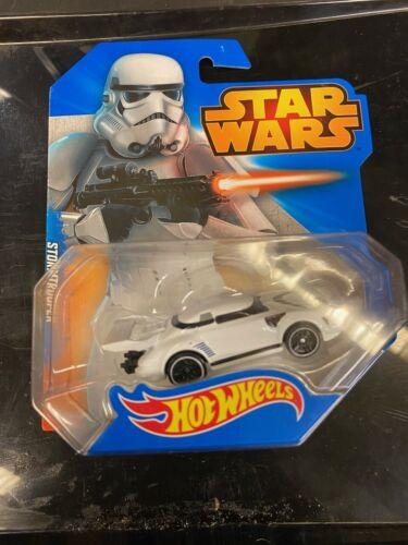 STAR Wars Hot Wheels veicoli Luke Yoda Stormtrooper spedizione GRATUITA Nuovo di Zecca