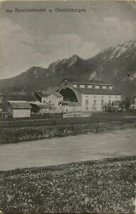 1490: Postkarte Ansichtskarte Passionstheater Oberammergau 1910
