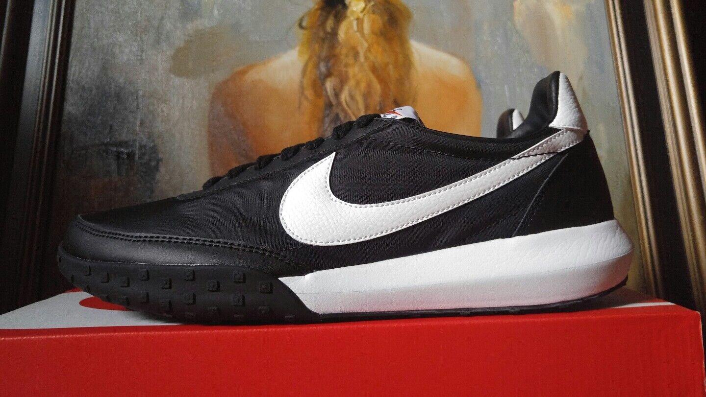Nike Roshe Waffle Racer 10 NM size 9 9.5 10 Racer black white 845089 002 b69399