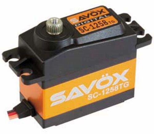 Savox SC-1258TG Super Speed Titanium Gear Digital Servo SC1258TG