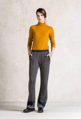 IVKO Lammwolle Hose Merino Wolle pants trousers merino wool anthracite 62625