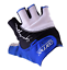 Carnac Superleggero Fingerless Cycling Gloves Mitts Magnetic Padded Blue//Black