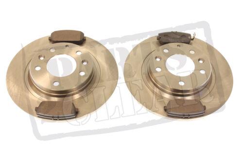 Mazda MX5 Discos De Freno Trasero /& Pastillas Set MK3 Nuevo Completo 1.8 2.0 2005