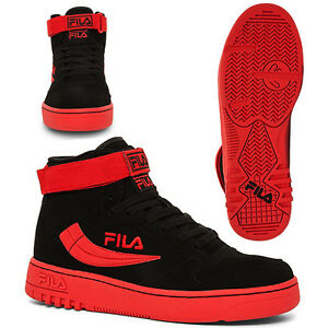 0b5c7f9b7aea NEW AUTHENTIC MEN S FILA FX-100 RED BLACK 1VB90150-023